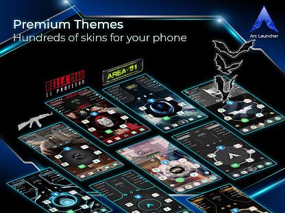 ARC Launcher 2021 Themes Wallpapers No Ads 46.3 Screenshots 7