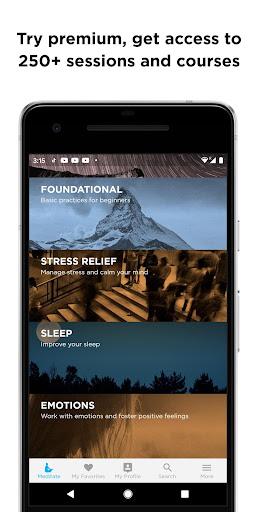 The Mindfulness App: relax, calm, focus and sleep screenshots 3