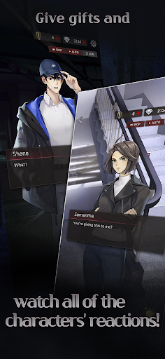 Havenless - Your Choice Otome Thriller Game apkpoly screenshots 8