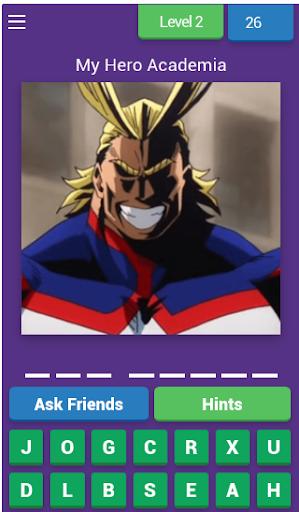 guess my hero academia character screenshot 3