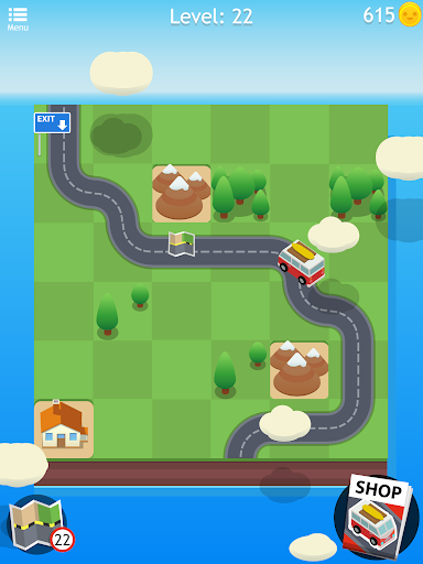 Road Trip FRVR - Connect the Way of the Car Puzzle 1.1.7 Pc-softi 8