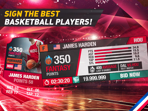 Basketball Fantasy Manager 2k20 ud83cudfc0 NBA Live Game 6.20.010 screenshots 16