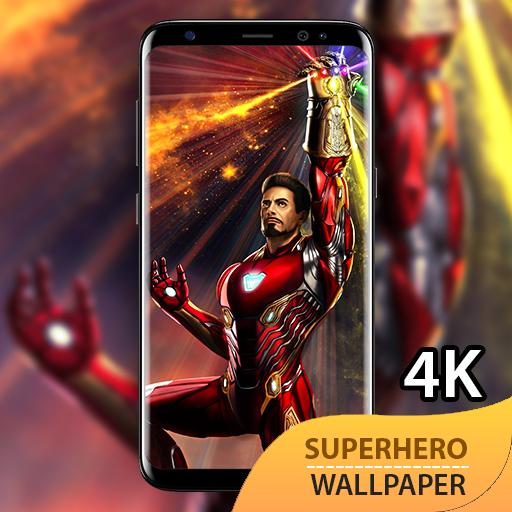 Superhero Wallpaper 4k Neon Background Apps On Google Play