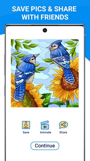 Happy Canvasu2122 - Color by Number Book 2.1.2 screenshots 11