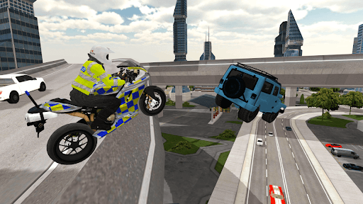 Police Motorbike Simulator 3D screenshots 11