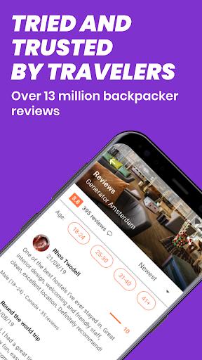 Hostelworld: Hostels & Backpacking Travel App android2mod screenshots 5