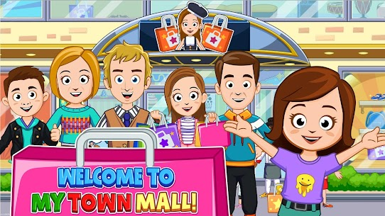 My Town: Shopping Mall – Shop & Dress Up Girl Game 1