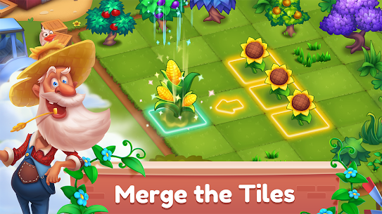 Mingle Farm – Merge and Match Game Apk Mod + OBB/Data for Android. 1