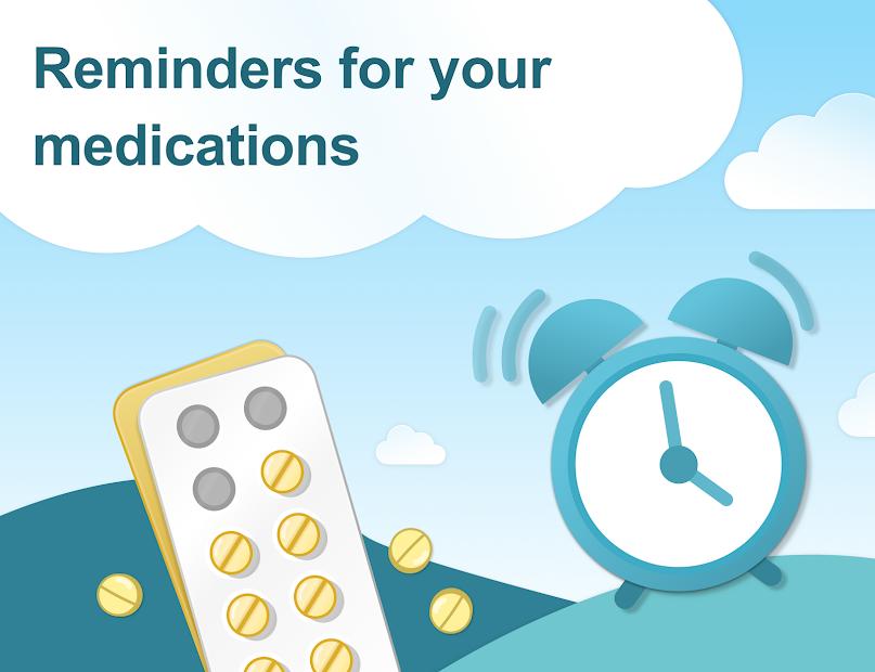 Pill Reminder & Medication Tracker - MyTherapy Android App Screenshot