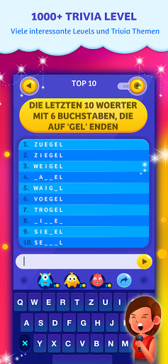 Top 10 Trivia Quiz - Quizfragen 1.16 screenshots 5