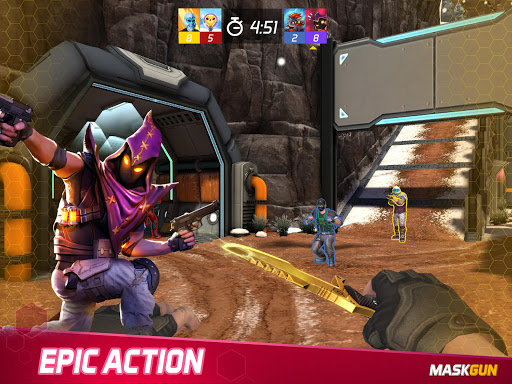 MaskGun Multiplayer FPS - Free Shooting Game 2.510 Screenshots 8