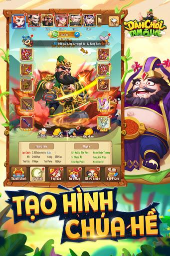 Du00e2n Chu01a1i Tam Quu1ed1c - Dan Choi Tam Quoc  screenshots 1