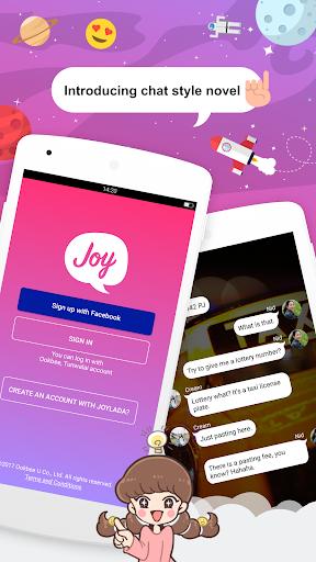 Joylada - Read All Kind of Chat Stories  screenshots 1