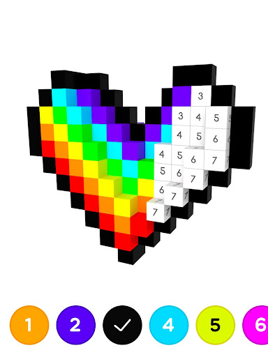 Number Coloring u2013 3D No.Draw screenshots 10