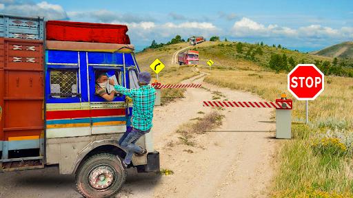 Real Indian Cargo Truck Simulator 2020: Offroad 3D  screenshots 3