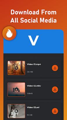 All Video Downloader 2021 -ビデオを無料でダウンロードのおすすめ画像1