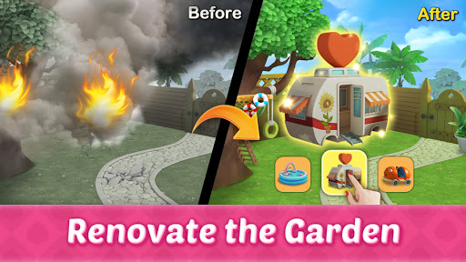 Tripeaks Dream Garden 1.9.0 screenshots 2