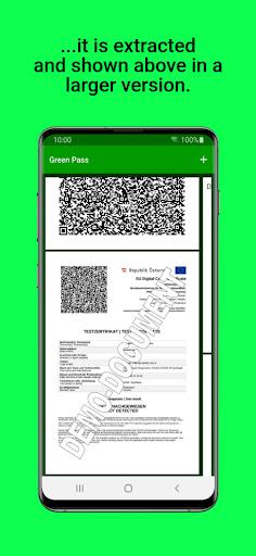 Green Pass PDF Wallet apktram screenshots 3