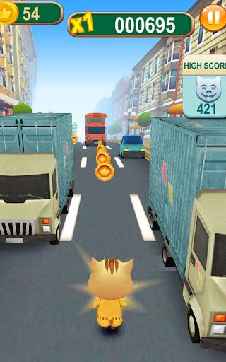 Subway Cat Runner -Online Rush  screenshots 2