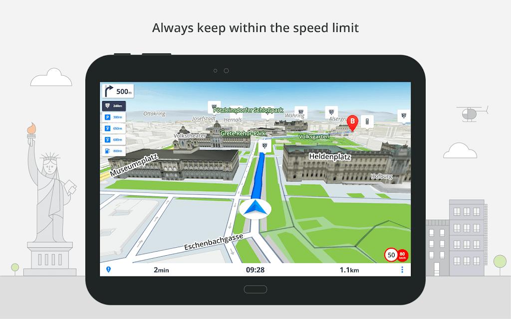 Sygic GPS Navigation & Offline Maps poster 12