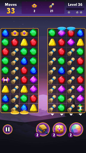 Jewel Quest - Magic Match apkpoly screenshots 12