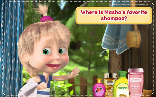 Masha and the Bear: House Cleaning Games for Girls 2.0.0 screenshots 20