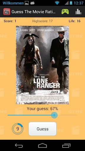 guess the movie rating screenshot 1