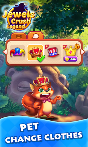 Jewels Crush Legend- Diamond & Gems Free Match 3 1.0.5 screenshots 5