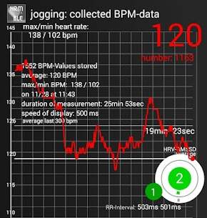 BLE Heart Rate & HRV:  Monitoring and Recorder 3.14 APK + MOD Download 3