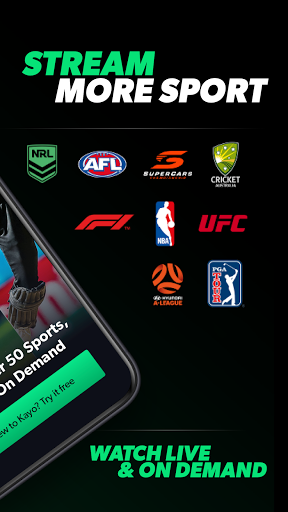 Kayo Sports - for Android TV  Paidproapk.com 2