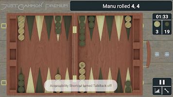 Backgammon Game - JustGammon
