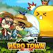 ヒーロータウン : 2D MMORPG - Androidアプリ