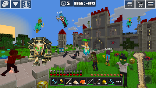 PlanetCraft: Block Craft Games apkpoly screenshots 9