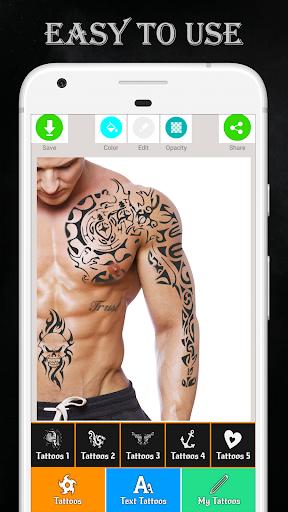 Tattoo Maker - Love Tattoo  Screenshots 4