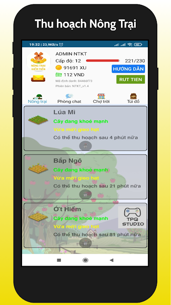 Nong Trai Kiem Tien - NTKT 2021 screenshot 1