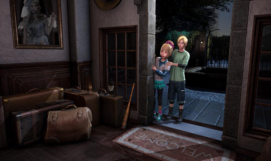 Scary Granny Teacher : Horror Grandma House Escape screenshot 3
