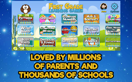 First Grade Learning Games 5.2 screenshots 4