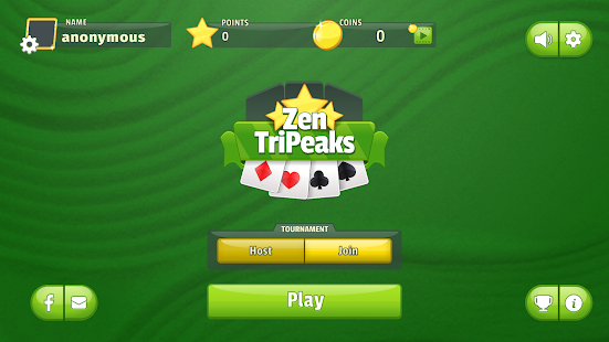 Zen Tripeaks Solitaire Screenshot