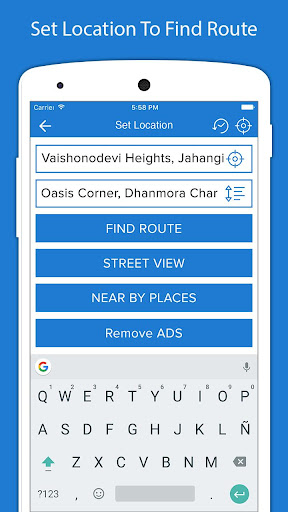 Voice GPS Driving Directions - GPS Navigation 3.0 screenshots 2