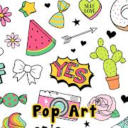 Cute Wallpaper Pop Art Theme