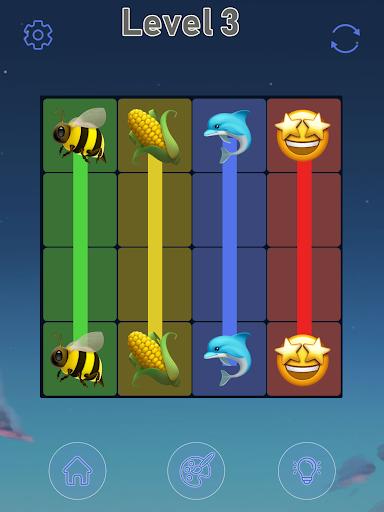 Connect Emoji Puzzle apkdebit screenshots 22