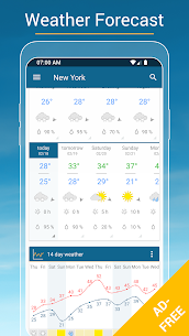 Weather & Radar USA Mod Apk- Winter alerts (Paid/Mod Extra) 3