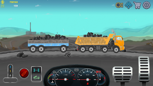 Trucker Real Wheels - Simulator apkdebit screenshots 3