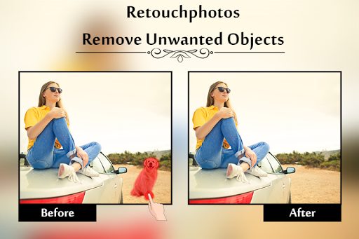 Retouch Photos : Remove Unwanted Object From Photo  Screenshots 1