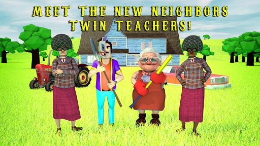 Scary Clown Man Neighbor. Seek & Escape  screenshots 1
