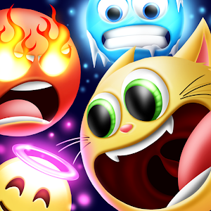Create emoji up new emoji wemoji emojii hearts 2.1.1 by Mazzocchi Brothers s.r.l logo
