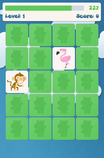 Animals memory game for kids  screenshots 6