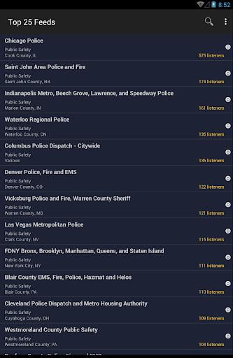 Broadcastify Police Scanner  Screenshots 9
