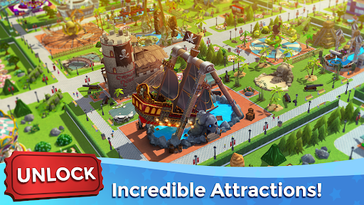 RollerCoaster Tycoon Touch - Build your Theme Park  screenshots 3