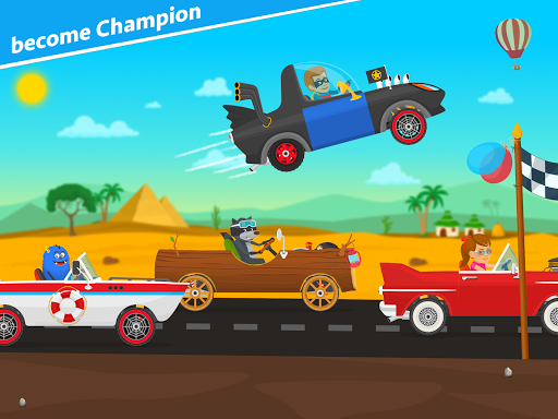 Racing car games for kids 2-5. Cars for toddlers apkpoly screenshots 9